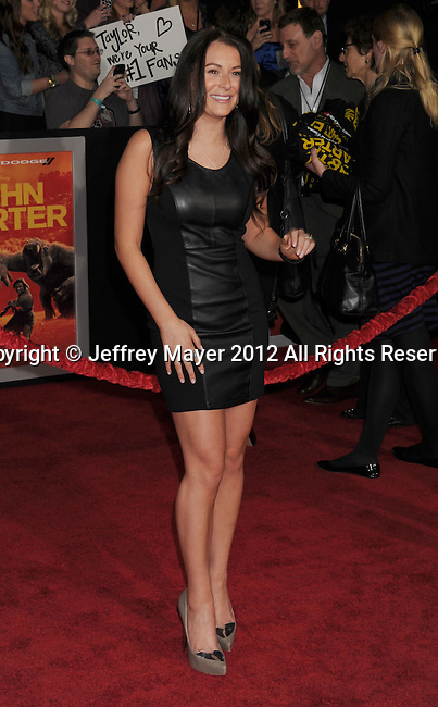 LOS ANGELES, CA - FEBRUARY 22: Alexa Vega  attends the 'John Carter' Los Angeles premiere held at the Regal Cinemas L.A. Live on February 22, 2012 in Los Angeles, California.