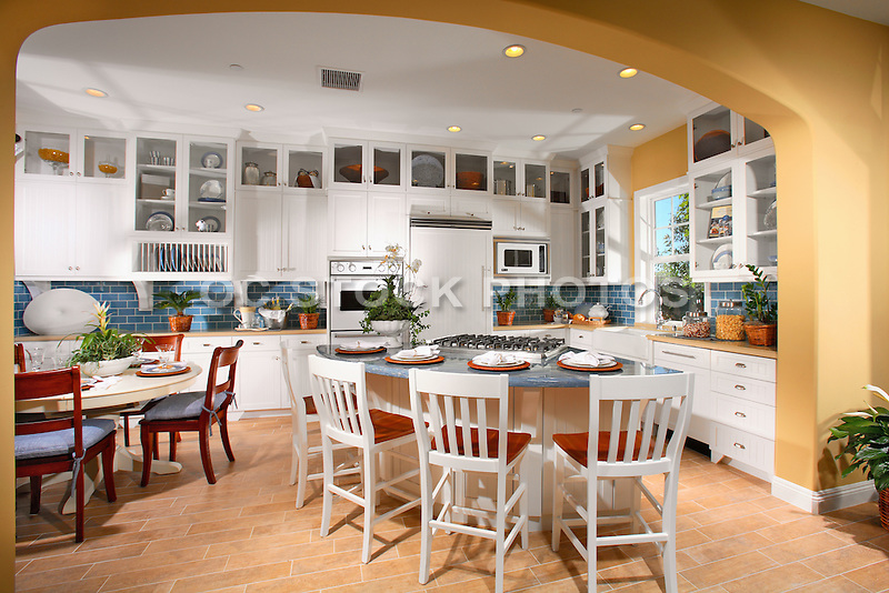 Home Kitchen Tiles Models model home kitchen with white cabinets and tile flooring | socal
