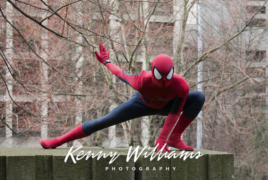 Spiderman, Emerald City Comicon, Seattle, WA, USA.