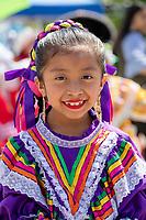 Folklore Mexicano Tonantzin, Kent International Festival, Kent, WA, USA.