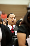 East Aldine District Scholarship Award winner Anthony Dominguez at the 2011 Aldine Scholarship Foundation Scholarship Ceremony at Lone Star College - North Harris