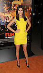 HOLLYWOOD, CA - OCTOBER 25: Victoria Justice arrives at the Los Angeles premiere of 'Fun Size' at Paramount Studios on October 25, 2012 in Hollywood, California.
