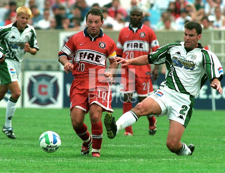 Peter Nowak during his MLS career.