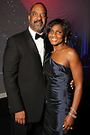 Morris and Shauna Clark at the Ensemble Theater's annual Black Tie Gala at the Hilton Americas Hotel Saturday Aug. 25, 2012.(Dave Rossman/For the Chronicle)