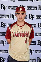Tommy Biggs (4) of West Monroe High School in Columbia, Louisiana during the Baseball Factory All-America Pre-Season Tournament, powered by Under Armour, on January 12, 2018 at Sloan Park Complex in Mesa, Arizona.  (Mike Janes/Four Seam Images)