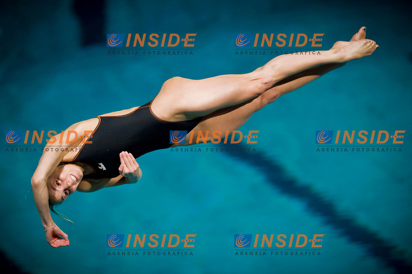 Tania Cagnotto (ITA).Diving European Championships Eindhoven 2012.Women's 3m springboard - final.Eindhoven (Netherlands), 19/05/2012.Diving  .Foto Insidefoto / Giorgio Perottino