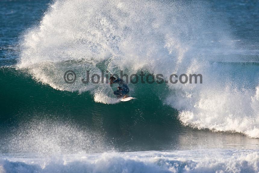JORDY SMITH (ZAF)  surfing at Bells Beach, Torquay Victoria, Australia (Thursday, April 16 2009)  Photo: joliphotos.com