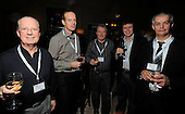 drinks reception, Oil and Gas Decommissioning Conference, Dunblane Hydro - l to r - Eddie Grant, Kevin Ingram, Stan Bain, Stephen Cochrane, and Raymond Cameron - 6.10.10 - picture by Donald MacLeod - mobile 07702 319 738 - clanmacleod@btinternet.com - www.donald-macleod.com