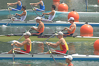 Beijing, CHINA, NED, JM2X, bow,Willem SPROKHOLT and Lucas UITTENBOGAARD, during the  2007. FISA Junior World Rowing Championships Shunyi Water Sports Complex. Wed. 08.08.2007  [Photo, Peter Spurrier/Intersport-images]..... , Rowing Course, Shun Yi Water Complex, Beijing, CHINA,