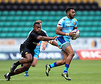 Sal M'Boge of Exeter Chiefs. Premiership Rugby 7s (Day 2) on July 28, 2018 at Franklin's Gardens in Northampton, England. Photo by: Patrick Khachfe / Onside Images