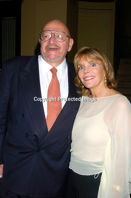 Jerry Della Femina and wife Judy Licht ..at George Lang's 80th Birthday at Cafe des Artistes on ..June 15, 2004 in New York City. City Meals-on-..Wheels and City Harvest are benefiting from the evening. ..George Lang owns Cafe des Artistes. ..Photo by Robin Platzer, Twin Images