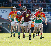 8th March 2020; TEG Cusack Park, Mullingar, Westmeath, Ireland; Allianz League Division 1 Hurling, Westmeath versus Carlow; Jack Galvin on an attacking run for Westmeath