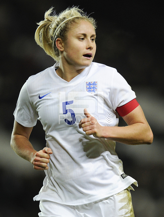 Milton Keynes, England - Friday, February 13, 2015: The USWNT defeated England 1-0 in an international friendly at Stadium MK.