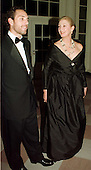 Jane Alexander, Chairman, National Endowment for the Arts and Jace Alexander arrive at The White House in Washington, D.C. for the dinner in honor of the National Medal of Arts recipients on January 9, 1997..Credit: Ron Sachs / CNP