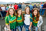 Kerry Fans at Fitzgerald Stadium l-r: Eileen Leen and Patrice Slattery (Causeway), Noreen Mahony (Rathmore) and Muiriosa Doherty (Glenflesk).