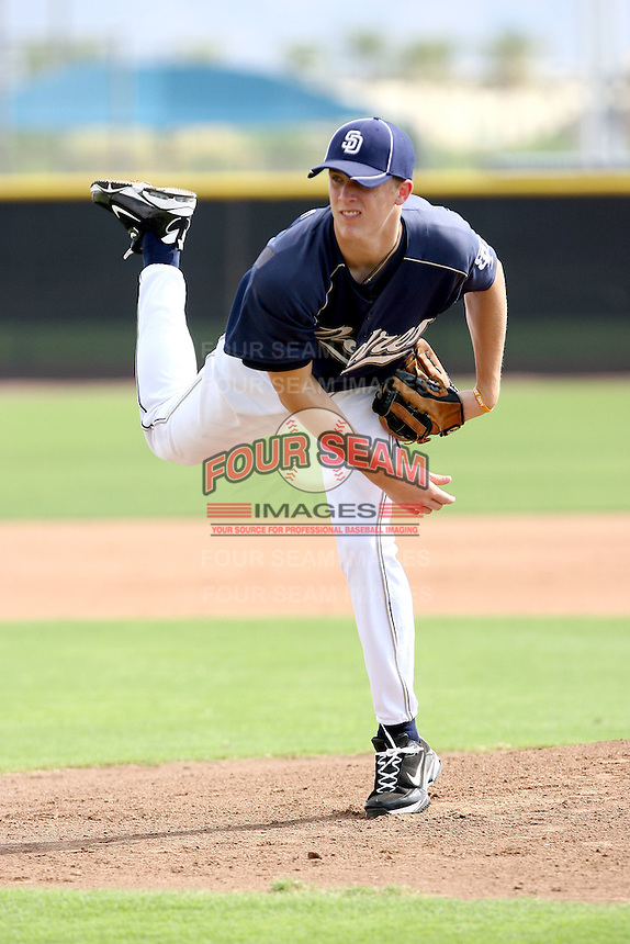 Zach Cates - 2010 AZL Padres .Photo by:  Bill Mitchell/Four Seam Images..