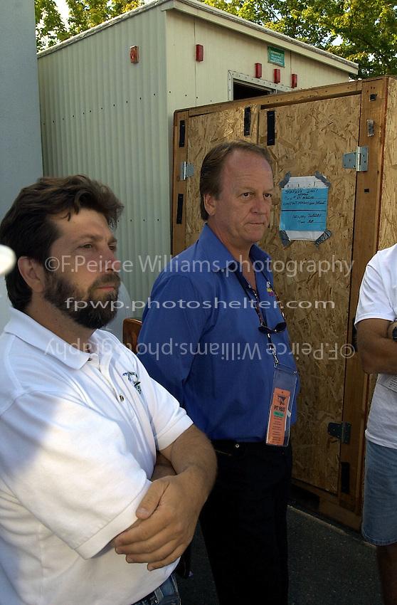 David Williams (L) and Billy Schumacher.