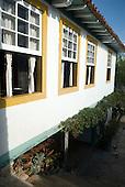 Paracatu, Minas Gerais, Brazil. Colonial architecture. Inside the Casa da Cultura.