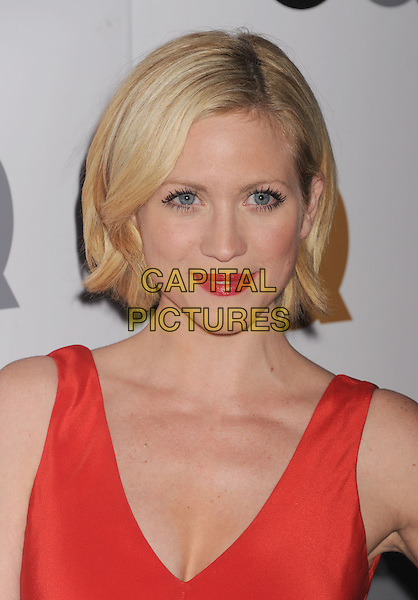 Brittany Snow.Arriving at the GQ Men Of The Year Party at Chateau Marmont Hotel in Los Angeles, California, USA..November 13th, 2012.headshot portrait red lipstick sleeveless .CAP/ROT/TM.©Tony Michaels/Roth Stock/Capital Pictures