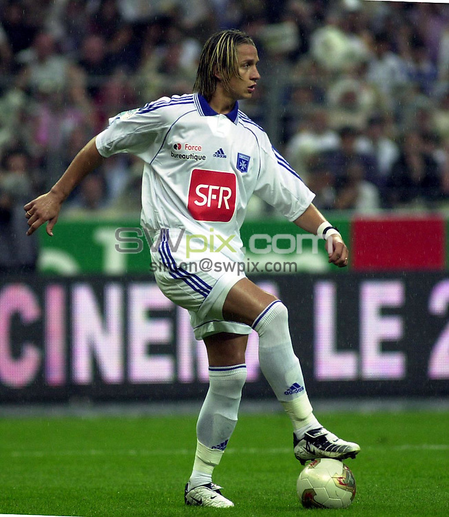 Pix: Dave Winter/SWpix.com.... Football. French League Soccer. Transfer targets. 04/06/2003...COPYRIGHT PICTURE>>SIMON WILKINSON>>01943 436649>>..Transfer target for English Premier League clubs, Phillipe Mexes..
