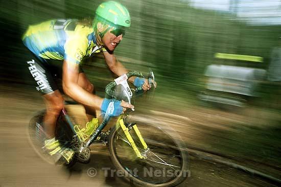 John Tomac at NORBA mountain bike race<br />