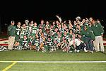 Redondo Beach, CA 05/11/10 - The 2010 Los Angeles Boys Lacrosse Champions: Mira Costa.