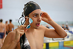 Finn Kennard-Campbell, AON Swimming New Zealand National Age Group Swimming Championships, National Aquatic Centre, Auckland, New Zealand, Saturday 21 April 2018. Photo: David Rowland/www.bwmedia.co.nz