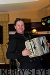 Accordion Maestro Neily O'Connor provided the entertainment for Lisa Brennan & John Hobbins' engagement party at The Manor Inn Killorglin on Friday
