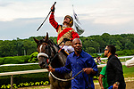 JULY 06, 2019 : Preservationist with Junior Alvarado, wins the $700,000 Suburban Stakes, at 1 1/4 mile at Belmont Park, in Elmont, NY, July 6, 2019.  Sue Kawczynski_ESW_CSM