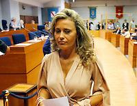 Monica Paolino presidente della commisione Antimafia della regione Campania <br /> indagata per voto di scambio mafioso