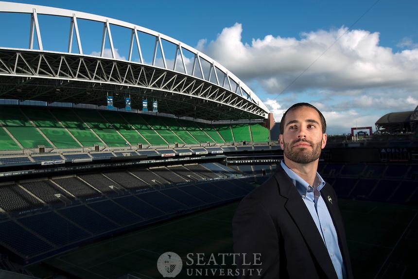 04242014- Mike Hettick - Sounders FC @ Century Link field