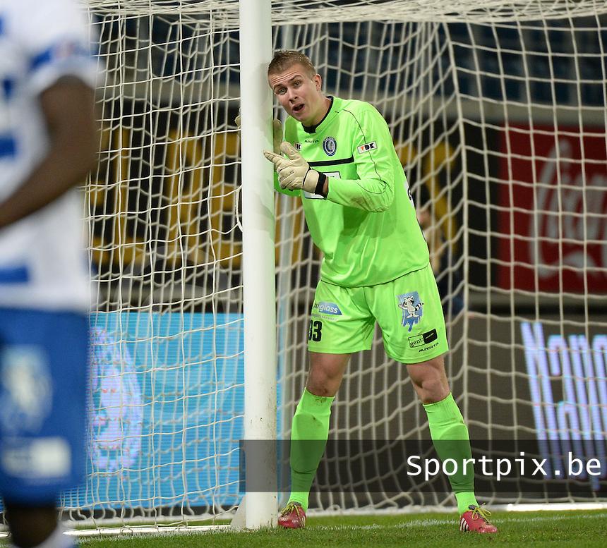 AA Gent - KV Kortrijk : Gent doelman Sergio Padt <br /> foto VDB / Bart Vandenbroucke