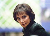 Prosecutor Marcia Clark during the trial of former NFL star running back O.J. Simpson for the murder of his former wife, Nicole Brown Simpson and a friend of hers, restaurant waiter, Ron Goldman in Los Angeles County Superior Court in Los Angeles, California on July 13, 1995.<br /> Credit: Steve Grayson / Pool via CNP