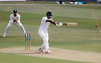 Delray Rawlins hits out for Sussex during Kent CCC vs Sussex CCC, Bob Willis Trophy Cricket at The Spitfire Ground on 8th August 2020