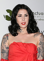 Beverly Hills, CA - NOVEMBER 12: Kat Von D, At Farm Sanctuary's 30th Anniversary Gala At the Beverly Wilshire Four Seasons Hotel, California on November 12, 2016. Credit: Faye Sadou/MediaPunch