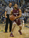 Little Rock guard Markquis Nowell (1) looks to pass the ball against Nevada in the first half of an NCAA college basketball game in Reno, Nev., Friday, Nov. 16, 2018. (AP Photo/Tom R. Smedes)