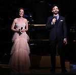Sierra Boggess and Ramin Karimloo during the Broadway Classics in Concert at Carnegie Hall on February 20, 2018 at Carnegie Hall in New York City.