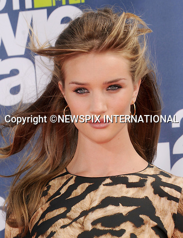 "ROSIE HUNTINGTON-WHITELEY.attends the 2011 MTV Movie Awards at the Gibson Amphitheatre on June 5, 2011 in Universal City, California.Mandatory Photo Credit: ©Crosby/Newspix International. .**ALL FEES PAYABLE TO: ""NEWSPIX INTERNATIONAL""**..PHOTO CREDIT MANDATORY!!: NEWSPIX INTERNATIONAL(Failure to credit will incur a surcharge of 100% of reproduction fees)..IMMEDIATE CONFIRMATION OF USAGE REQUIRED:.Newspix International, 31 Chinnery Hill, Bishop's Stortford, ENGLAND CM23 3PS.Tel:+441279 324672  ; Fax: +441279656877.Mobile:  0777568 1153.e-mail: info@newspixinternational.co.uk"