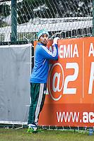 SAO PAULO, SP, 24 DE JULHO DE 2013. TREINO PALMEIRAS. O jogador do Palmeiras, Valdivia, durante treino na Academia de futebol do Palmeiras na Barra Funda, zona oeste da capital paulista. FOTO ADRIANA SPACA/BRAZIL PHOTO PRESS.
