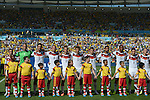 Germany team group line-up (GER), JULY 4, 2014 - Football / Soccer : FIFA World Cup Brazil 2014 quarter-finals match between France 0-1 Germany at Estadio do Maracana in Rio de Janeiro, Brazil. (Photo by FAR EAST PRESS/AFLO)