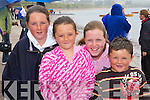Nicole, Gemma Donnelly, Laura McGuirk and Jane Donnelly who rowed in the Ballinskelligs regatta on Sunday    Copyright Kerry's Eye 2008