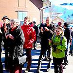Silvesterchläuse von Urnäsch. Appenzell Ausserrhoden AR, Schweiz.<br /> <br /> Foto: Paul Trummer