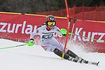10.03.2018, Ofterschwanger Horn, Ofterschwang, GER, Slalom Weltcup in Ofterschwang, im Bild Stephanie Brunner (AUT, #25)<br /> <br /> Foto &copy; nordphoto / Hafner
