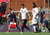 "milito ronaldinho<br /> Genova 14/09/2008 Stadio ""Ferraris"" <br /> Calcio Serie A Tim 2008-2009 <br /> Genoa-Milan<br /> Foto Davide Elias Insidefoto"