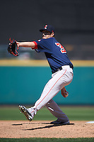 Pawtucket Red Sox relief pitcher Chandler Shepherd (30) delivers a pitch during a game against the Rochester Red Wings on June 29, 2016 at Frontier Field in Rochester, New York.  Pawtucket defeated Rochester 3-2.  (Mike Janes/Four Seam Images)