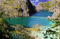 CORON ISLAND LAGOON,Palawan, Philippines