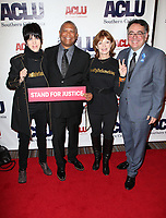 BEVERLY HILLS, CA - DECEMBER 3: Diane Warren, Reginald Hudlin, Frances Fisher, Hector Villagra, at ACLU SoCal's Annual Bill Of Rights Dinner at the Beverly Wilshire Four Seasons Hotel in Beverly Hills, California on December 3, 2017. Credit: Faye Sadou/MediaPunch /NortePhoto.com NORTEPHOTOMEXICO