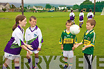 Mary Duggan, Alan Brosnan, Robert Kerins and Donal Fox pictured at the GAA Summer camp at Austin Stacks Club, Connolly Park Tralee on Friday.