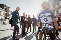 Israeli National Champion Guy Sagiv (ISR/Israel Cycling Academy) pre-race<br /> <br /> 72nd Nokere Koerse 2017 (1.HC)