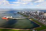 Nederland, Zeeland, Terneuzen, 09-05-2013; Zeeuws-Vlaanderen, Terneuzen. Nederland, Zeeland, Terneuzen, 09-05-2013; Zeeuws-Vlaanderen, Terneuzen. Zicht op de Westerschelde met aan de andere oever Zuid-Beveland. <br /> Site van de chemische fabriek van Dow (Dow Chemical Company) aan de Westerschelde. Afgemeerd zijn de olie en chemicali&euml;n-tanker Sten Hidra (rood oranje) en de  Lpg-tanker BW Tokyo.<br /> De kraakinstallaties maken o.a. benzeen, ethyleen en propyleen (basischemicalien voor halffabrikaten voor verschillende kunststoffen).<br /> Zeeuws-Vlaanderen,  the south-west part of the province of Zeeland site of the chemical plant of Dow Chemical Company. This plant produces benzene, ethylene and propylene, the basis for various plastics. View on the Westerschelde. <br /> <br /> luchtfoto (toeslag op standard tarieven);<br /> aerial photo (additional fee required);<br /> copyright foto/photo Siebe Swart.
